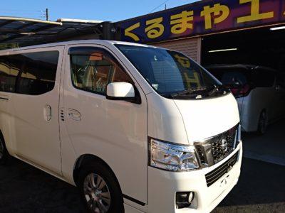 【NV350 キャラバン】カーセキュリティー VIPER取付