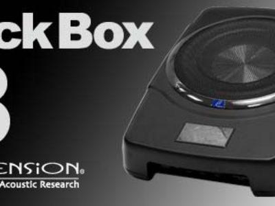 """お勧め!【μ-DIMENSION 】新型チューンナップサブウーファー""""BlackBox i8"""""""