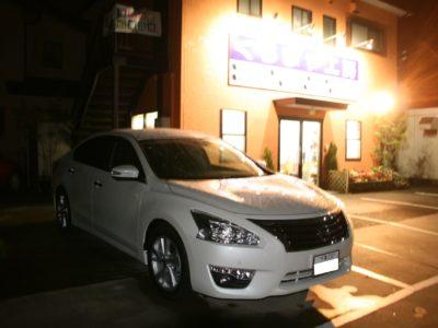 【L33 ティアナ】カーセキュリティー取付+ボディーコーティング施工