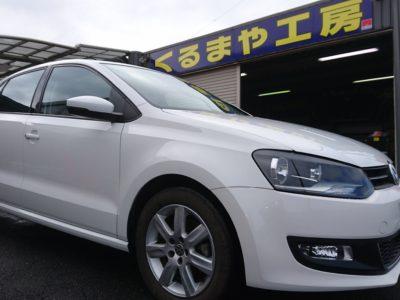 【6R型 VW Polo】パワーアンプ内蔵 DSP 取付