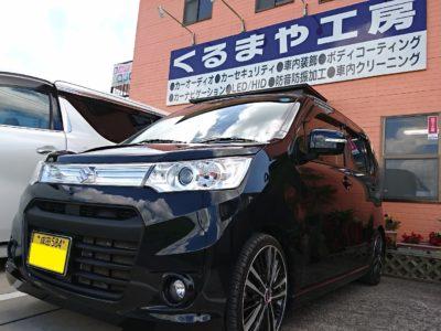 【ワゴンR】ナビ出力ハーネスをグレードUP&スピーカーケーブルをダイレクトジョイント!