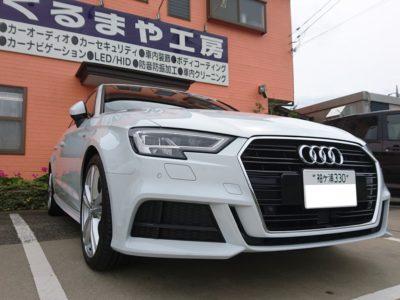 【Audi A3】超撥水性コーティング+カーフィルム施工