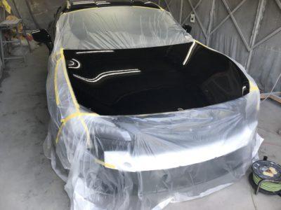 スバル BRZ 剥がせるクリア保護塗料P1塗装