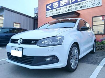 【6R型 VW Polo】スピーカー、ドライブレコーダー取付
