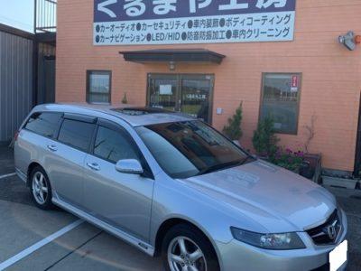 【ホンダ・アコードワゴン】後付けサンルーフ H300 Comfort 電動開閉式 取付け。