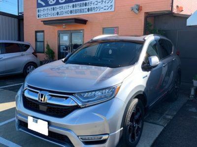 【ホンダ・CR-Vハイブリッド】HondaインターナビからアルパインXF11Z付け替え。