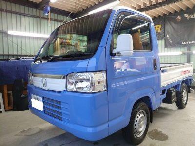 【HA9 アクティ トラック】ナビ、スピーカー、ドライブレコーダー取付