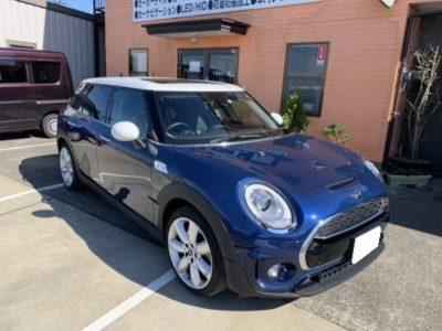 【BMW・MINI CLUBMAN F54】後付けサンルーフHollandia 300 DeLuxe Large取り付け。