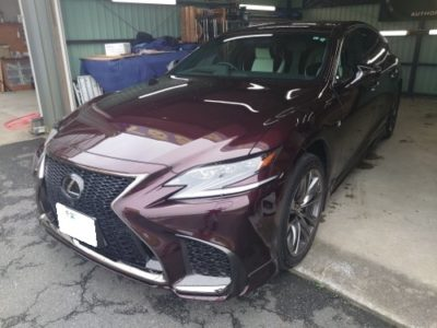 【LEXUS ・LS500h】リレーアタック・車両盗難対策に!!キーレスブロック・IGLA取り付け。