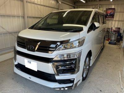 【トヨタ・30系ヴェルファイア】車両盗難・リレーアタック対策に!!KLBキーレスブロック・IGLAインストール