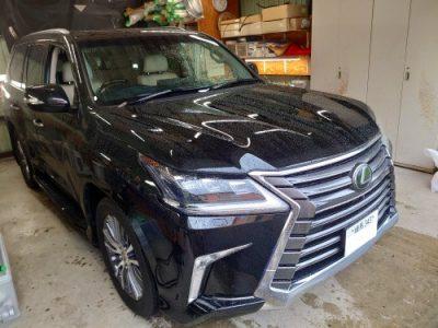 【LX570】車両盗難対策に!!キーレスブロック・イグラ カーセキュリティ取り付け
